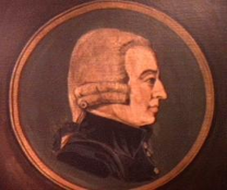 Norma Lipsett Painting of Adam Smith